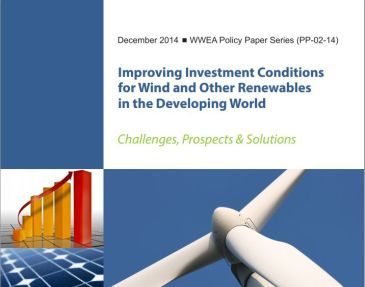Improving Investment Conditions for Wind and Other Renewables in the Developing World