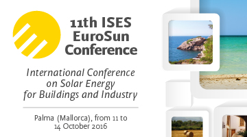 EuroSun 2016 - International Conference on Solar Energy for Buildings and Industry