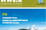 WWEA Bulletin Issue 1-2016: Community Wind Special