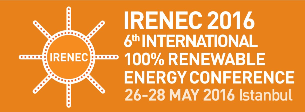 International 100% Renewable Energy Conference (IRENEC 2016)