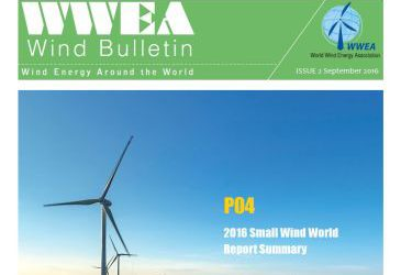 WWEA Bulletin Issue 2-2016: Small Wind Special
