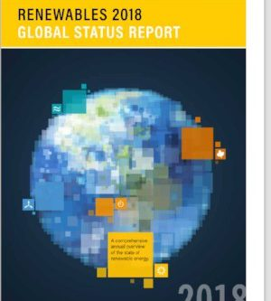 Renewables 2018 Global Status Report:  Now available!